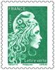 Timbre vert timbre 68c