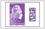 Timbre violet